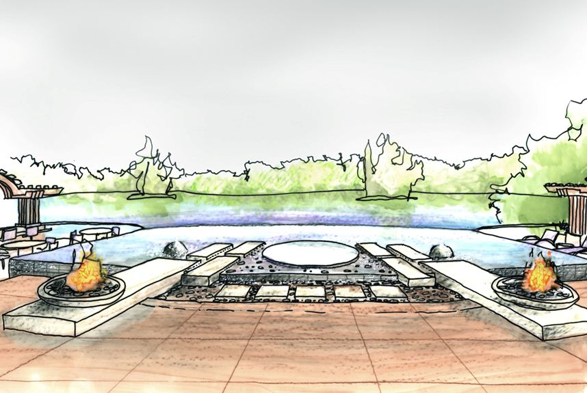 Pool Design Sketch