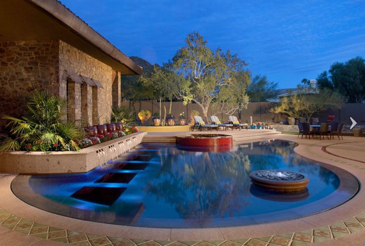 top custom pool landscape designer gives elite designs to